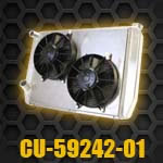 Dual Pass Raditor with electric fans CU-59242-01